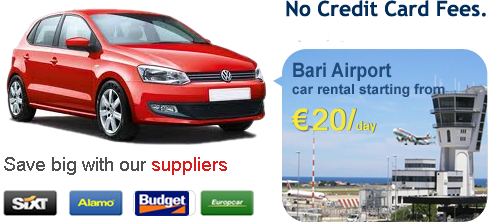 Bari Airport Car Rental